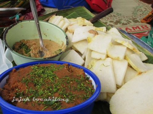 Cabuk Rambak - makanan wajib Sekaten