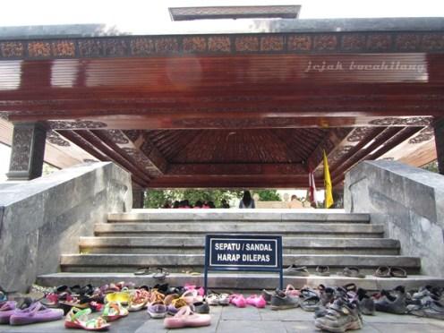 suasana makam Bung Karno