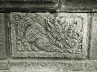 relief satwa di Candi Panataran