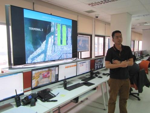 Mas Bagus, head of Planning and Control Division Pelabuhan Tanjung Priok