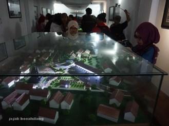 ruang di Studio Sejarah Restorasi Candi Borobudur