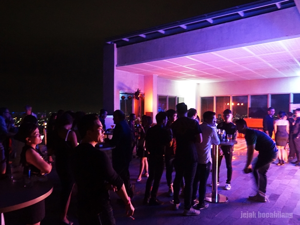 Rooftop Countdown Party at AGRA