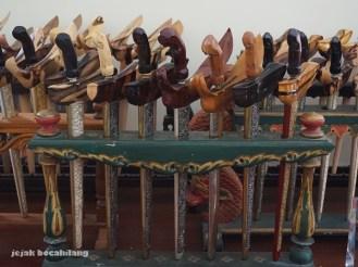 koleksi keris Empu Harumbrojo