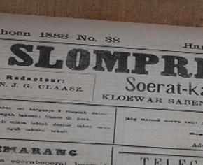 Surat Kabar Slompret Melayoe, 29 Maart 1888