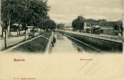 Weltevreden tahun 1900-an. Sumber foto: KITLV Digital Media Library (http://media-kitlv.nl/all-media/indeling/detail/form/advanced/start/24?q_searchfield=batavia)