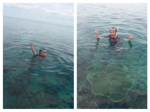 snorkeling pulau lengkuas belitung 1