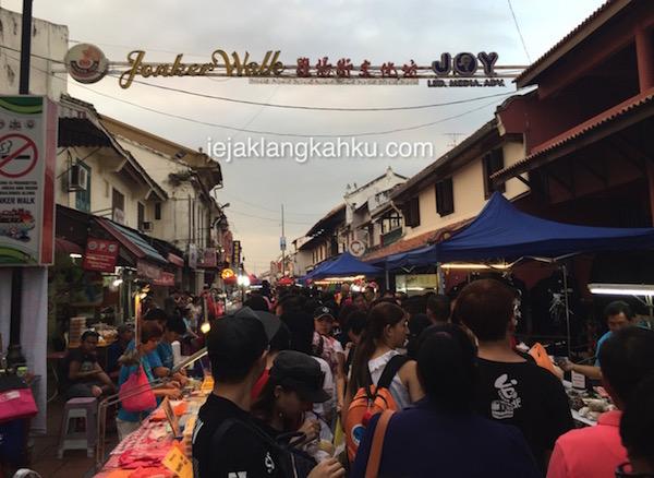 jonker street night market melaka 0