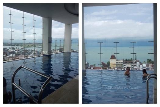 kolam renang hotel aston makassar 1