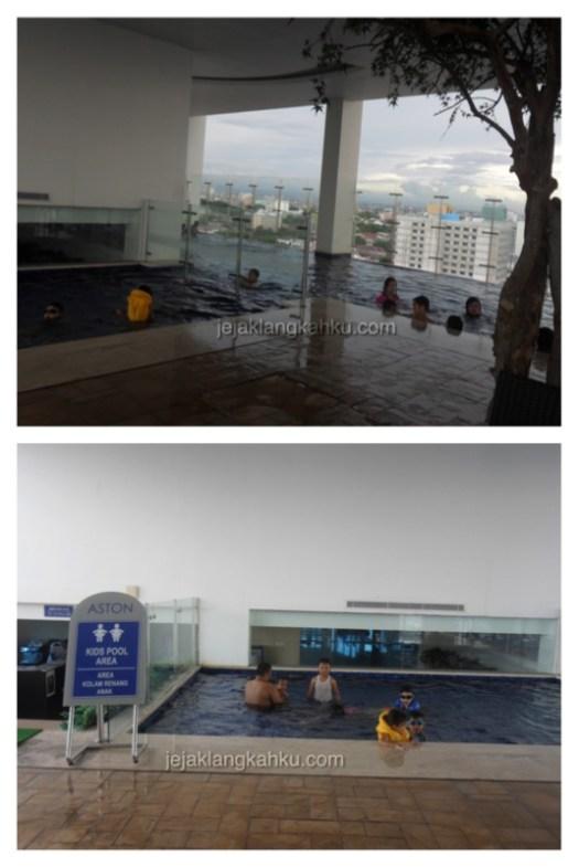 kolam renang hotel aston makassar 2