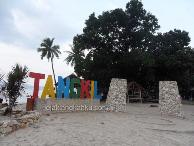 Wisata Pulau di Teluk Lampung : Pulau Tangkil