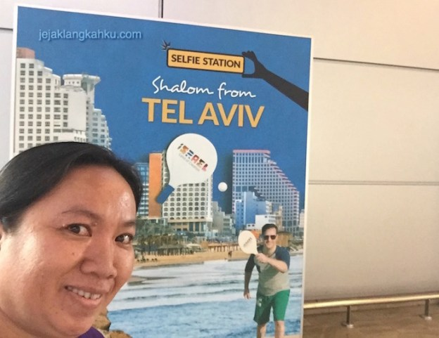 From Jakarta to Tel Aviv Israel by Royal Jordanian Airlines