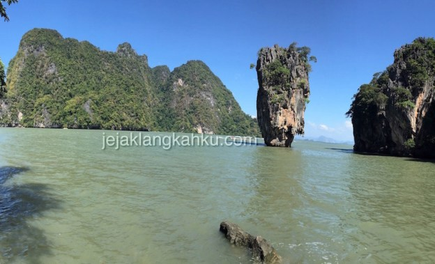 Pulau Unik di James Bond Island Phuket Thailand