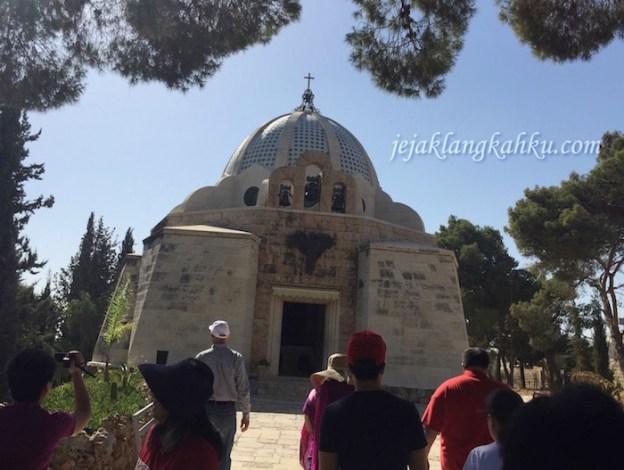 Kumandang Berita Kelahiran Sang Juruselamat di Gereja Padang Gembala Betlehem, Israel