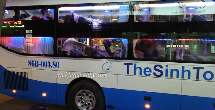 Perjalanan dari Kota ke Kota Sambil Tiduran di Sleeping Bus The Sinhtourist, Vietnam