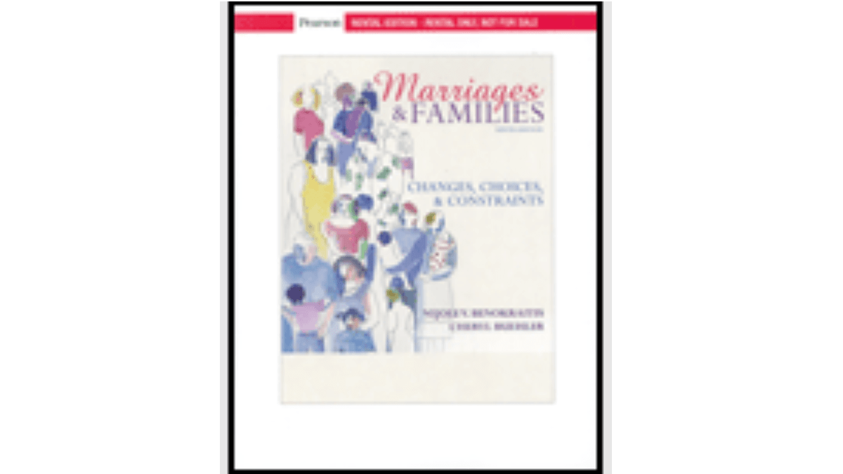 Related Image of Marriages and Families: Changes, Choices and Constraints 9th Edition, pdf and ebook download  by Nijole V. Benokraitis