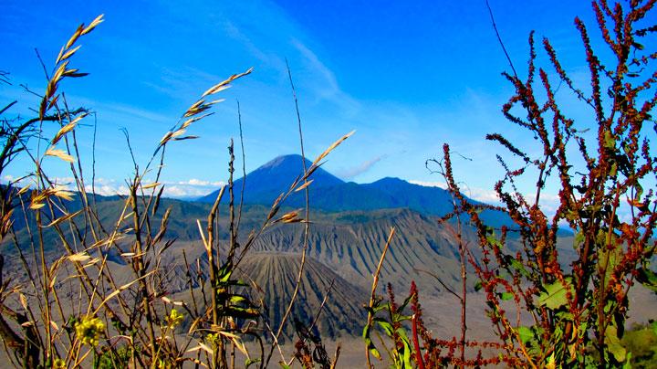 jajaran pegunungan bromo semeru