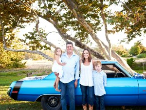 1973 Plymouth Scamp- after with Johnson family