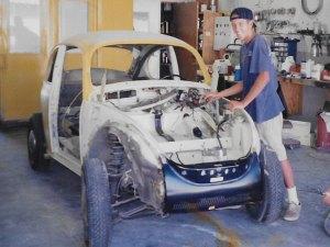 1964 VW Bug- Desert Ride- before