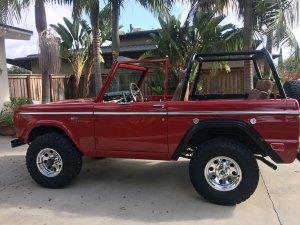 1969 Bronco Sport- after