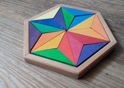 """Puzzle créatif en bois """"Petite étoile"""""""