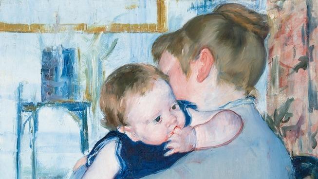 Huile sur toile, Marie Cassatt 1883-1885