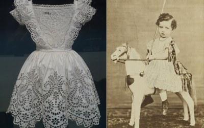 Histoire de mode enfantine, le petit enfant en robe
