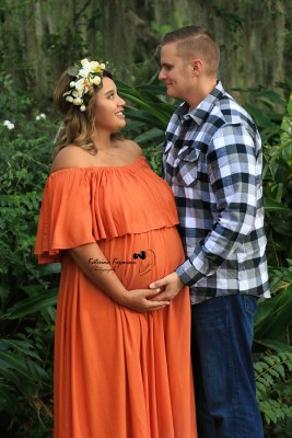 Maternity Photographer Alpine Groves Park Jacksonville Florida