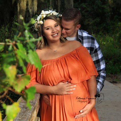 Maternity Photographer Alpine Groves Park Jacksonville Florida