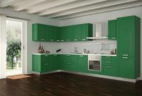 Dark Green Kitchen Cabinets. Kitchen. Kitchen Ideas 2019