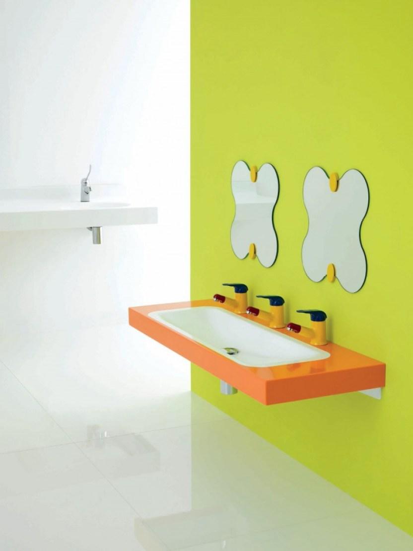 Children Bathroom Mirror Ideas