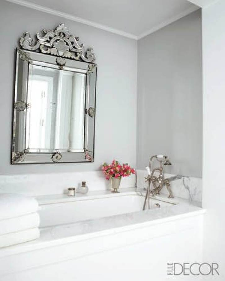 Whites Bathroom Mirror Ideas
