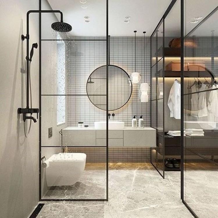 Chic Small Bathroom Ideas - Make It See Through