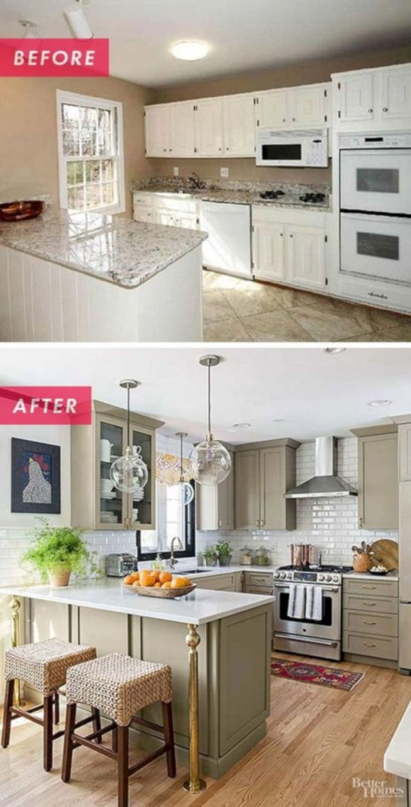 25+ Amazing Small Kitchen Remodel Ideas That Perfect For