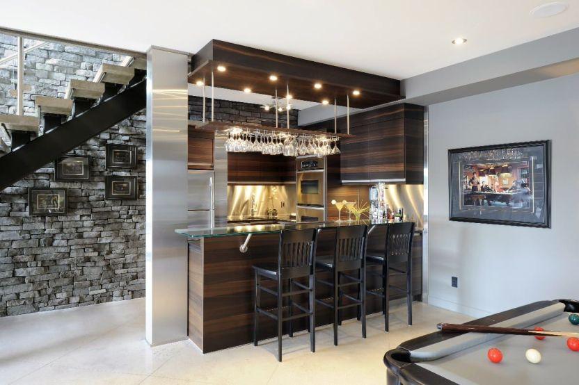Basement Ideas for Basement Bar