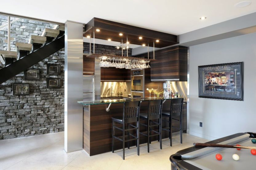 Basement Ideas for Basement Bar