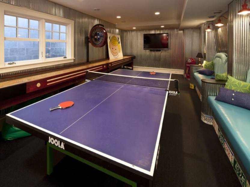 Basement Ideas for Game Room