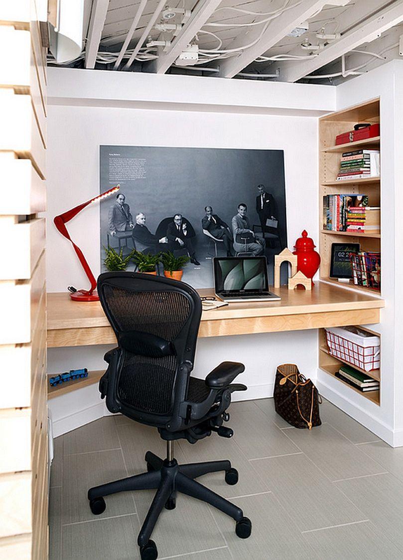 Small Basement Office Ideas