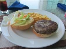 A camel burger!