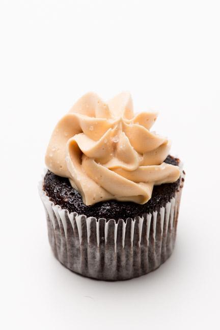peanut butter mini cupcake