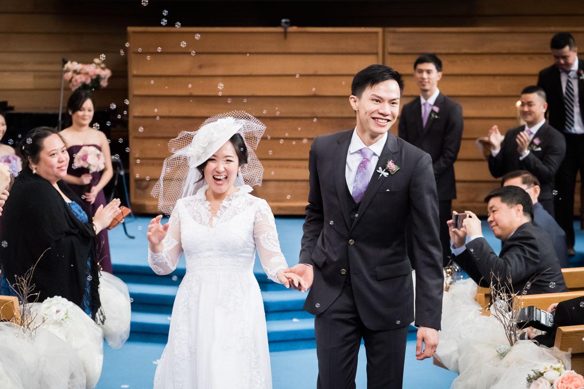 West Vancouver wedding ceremony