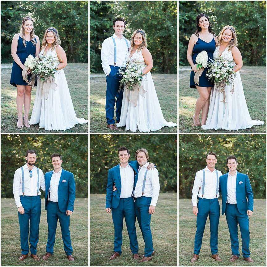 Outdoor Wedding Ceremony Calgary: Vancouver Backyard Wedding: Elysa + Alex • Wedding