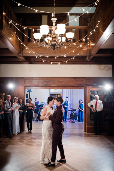 first dance at Cecil Green Park House wedding