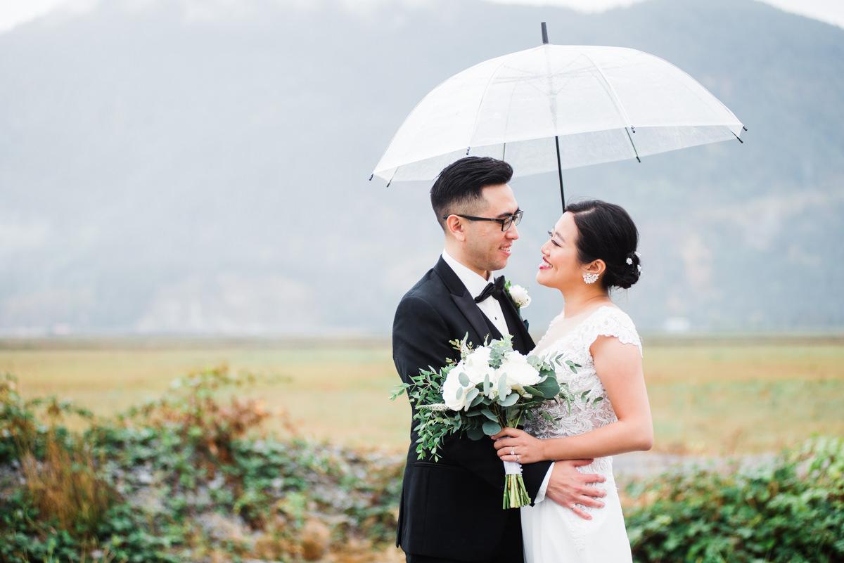 Vancouver rainy day wedding tips