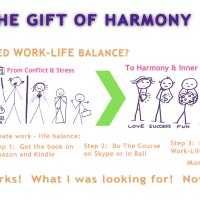The Gift of Harmony - How to Get off the work treadmill and enjoy work - life balance.