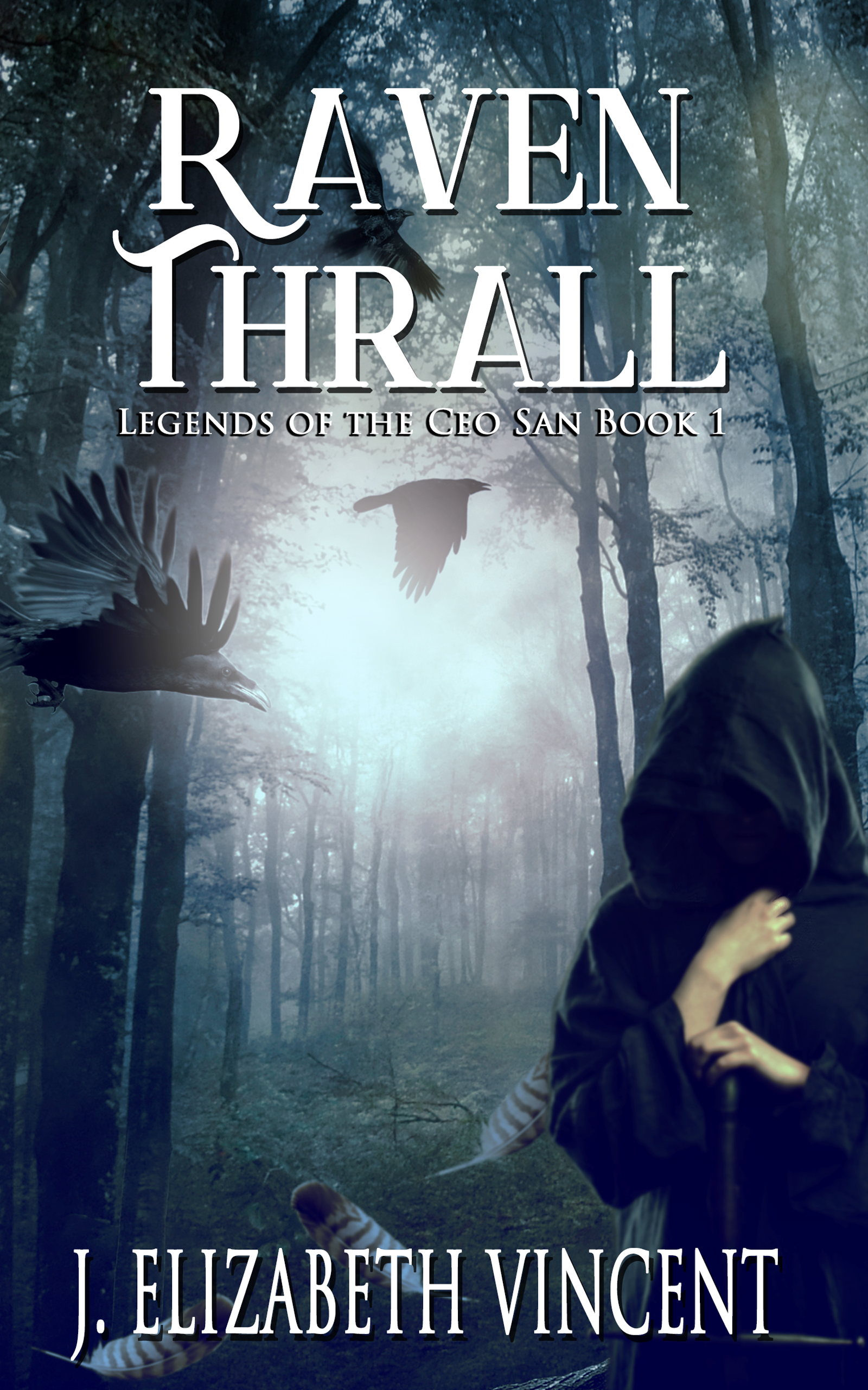 Raven Thrall Signed Copy