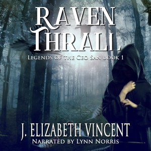 raven thrall, j. elizabeth vincent, audiobook, audible