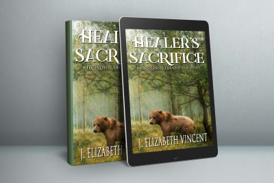 healer's sacrifice, j. elizabeth vincent, fantasy novella, legends of the ceo san