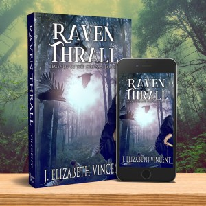 Raven Thrall paperback book and ebook