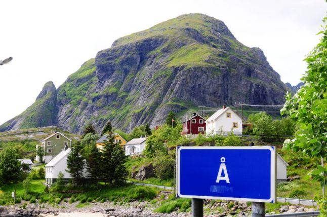 Dorf mit dem kürzesten Namen der Welt