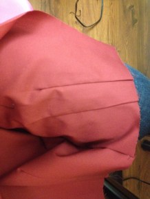 Sewing: Skirt Back Darts Ext